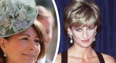 Lady Diana, gli amici contro la mamma di Kate Middleton: «Gesto di pessimo gusto»