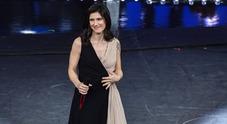 Elisa ospite sul palco dell'Ariston (foto Davide Fracassi/Ag.Toiati)