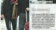 Alessandra Amoroso e il fidanzato Stefano Pezzopane all'aeroporto di Fiumicino (Diva e donna)