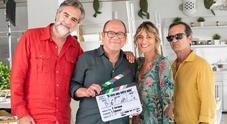 Otranto, Verdone sul set del nuovo film: «Sono un chirurgo on the road»