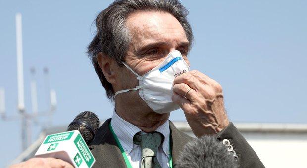 Coronavirus, scontro Lombardia-Lazio sulle Rsa. Fontana: «La nostra delibera come la loro». La replica: «Falso»