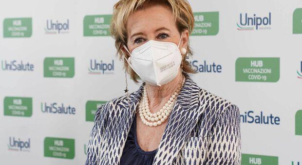 La vicepresidente e assessore al Welfare lombardo Letizia Moratti