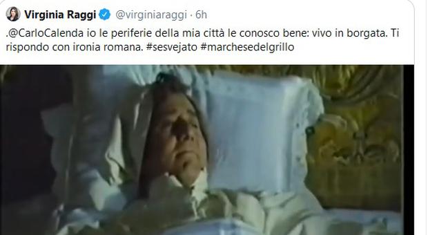 Il botta e risposta su Twitter fra Virginia Raggi e Carlo Calenda