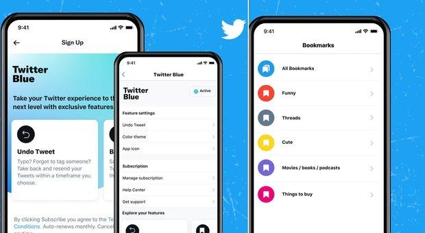 Twitter Blue, arriva la versione premium in abbonamento: ecco tutte le funzioni e dove partirà