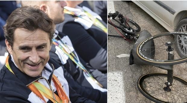 Alex Zanardi, l'incidente causato da una distrazione? «Stava riprendendo il panorama durante la corsa»
