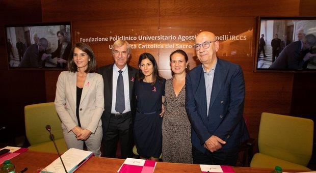 Nella foto: Michela Di Biase, Riccardo Masetti, Virginia Raggi, Iole Siena, Salvatore Adduce Davide Fracassi/Ag.Toiati