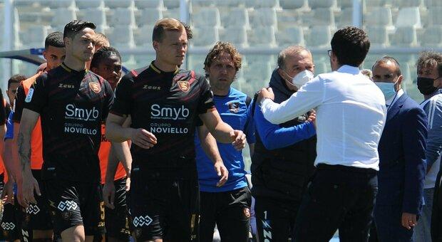 Tris della Salernitana con il Pescara già retrocesso: promossa in Serie A per la terza volta