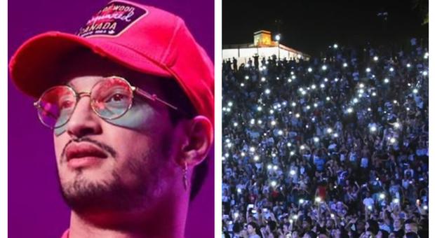 Il concerto del rapper Soolking a Algeri