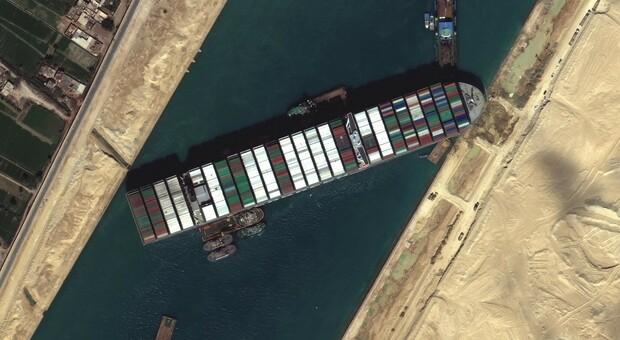 Ever given blocca Suez
