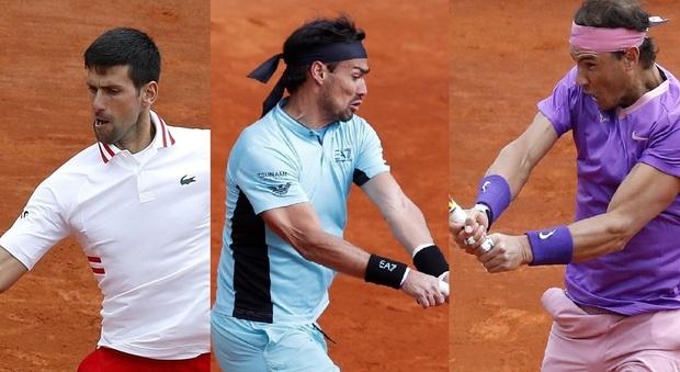 Atp Montecarlo, Djokovic eliminato da Evans 6-4 7-5. Fognini e Nadal volano ai quarti