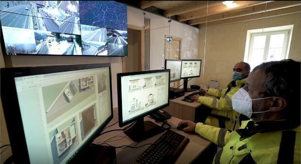 La Control Room cuore del progetto della Smart Road