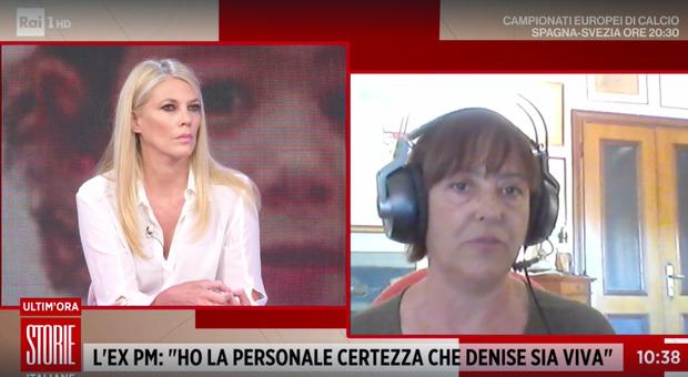 Denise Pipitone, la rivelazione choc a Storie Italiane dell'ex pm: «Sono certa che sia viva, ho individuato anche sua figlia»