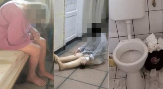 Nudi, buttati nel corridoio e abbandonati al proprio destino in condizioni fatiscenti: il reparto Covid choc in Romania