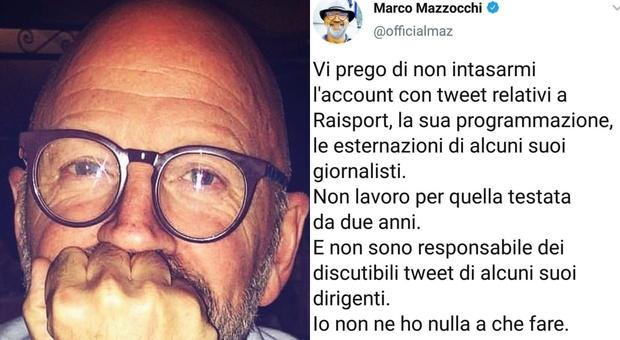 RaiSport a rischio chiusura, Marco Mazzocchi: «Non ci lavoro da due anni, non intasatemi l'account»