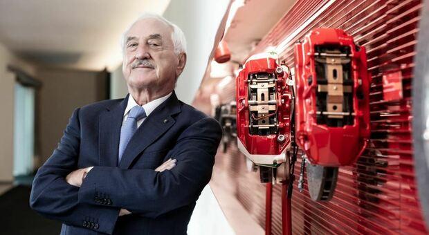 Alberto Bombassei (foto di Laila Pozzo concessa da Brembo)