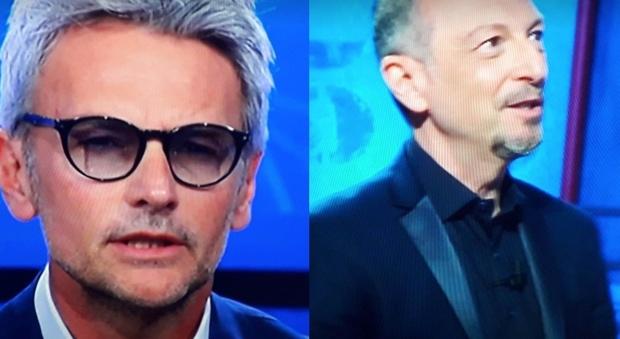 Amadeus, il gesto di Roberto Farnesi ai Soliti Ignoti fa infuriare i fan: «Lo ha fatto davvero?»