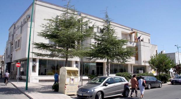 Il municipio di Avetrana