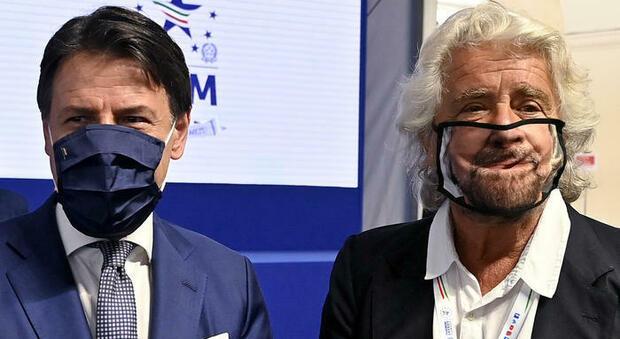 M5S, Beppe Grillo rompe il silenzio: «Giuseppe Conte non ha visione politica»