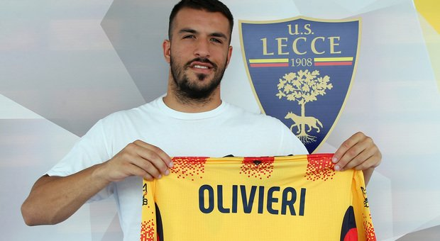 Marco Olivieri, attaccante del Lecce