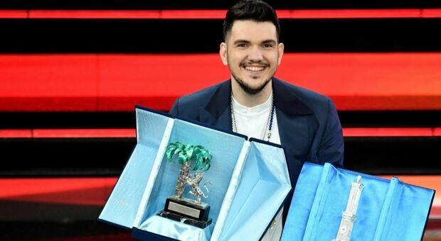 Sanremo 2021, Gaudiano trionfa nella categoria nuove proposte