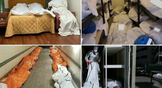 Covid, New York: centinaia di morti depositati nei camion e nelle stanze d'albergo in attesa del funerale