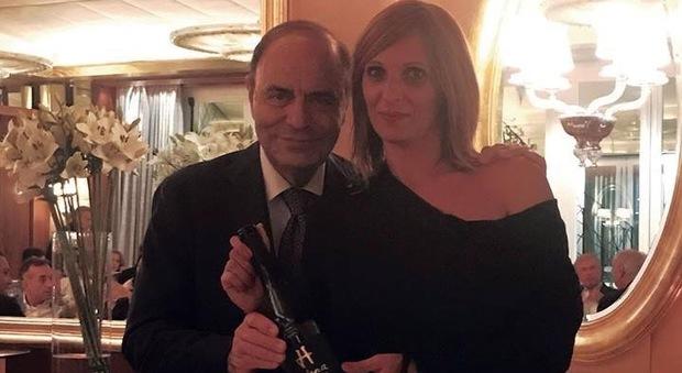 Bruno Vespa e Pamela Raeli