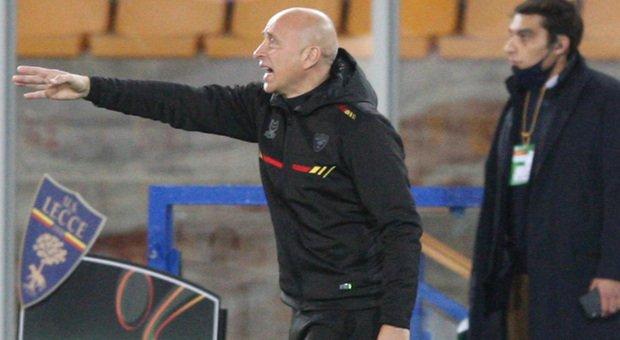 Eugenio Corini, allenatore del Lecce