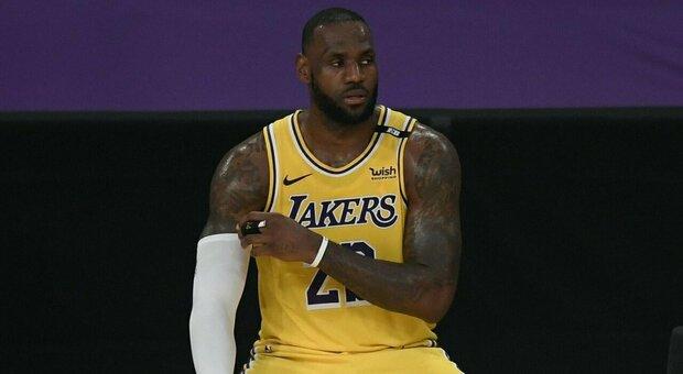 LeBron James, stella dei LA Lakers