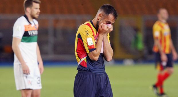 Marco Mancosu, capitano del Lecce