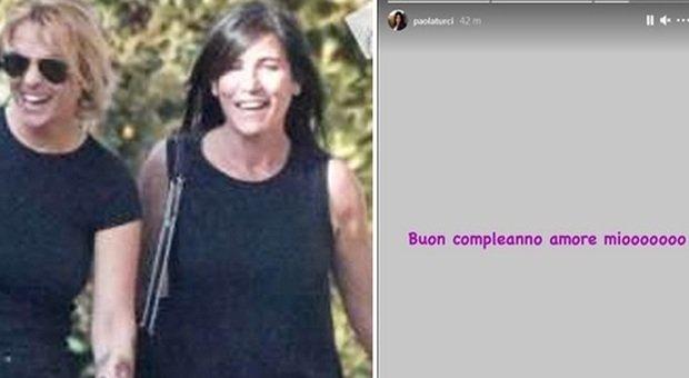 """Francesca Pascale e Paola Turci (Foto """"Diva e donna"""" e il post di Paola Turci su Instagram"""