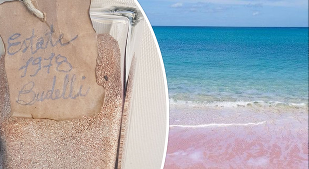 La sabbia rosa della spiaggia di Budelli torna a casa, la figlia del turista pentito: «Restituita dopo 42 anni»