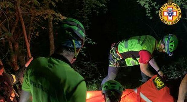 La coppia di alpinisti rimasta bloccata sul monte Zermula è stata salvata questa mattina