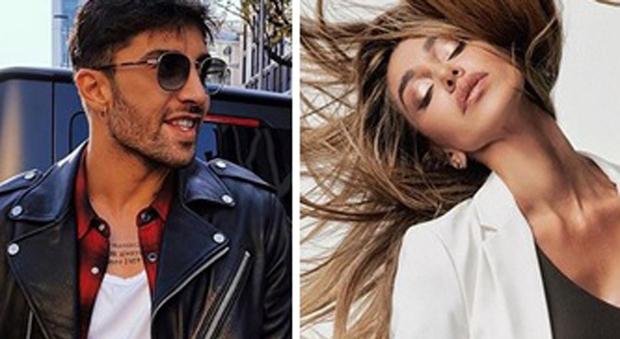 Andrea Iannone e Belen Rodriguez (Instagram)