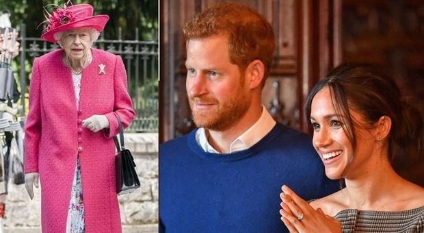 Harry e Meghan nei guai: la regina Elisabetta è pronta a fargli causa