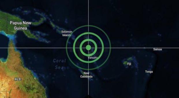 Terremoto, scossa fortissima alle Vanuatu: diramata l'allerta tsunami