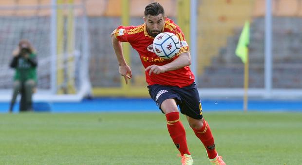 Massimo Coda, attaccante del Lecce
