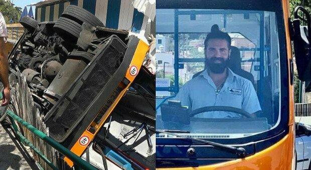 Bus precipitato a Capri, la compagna incinta di Emanuele Melillo ha perso il figlio