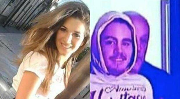 A sinistra Noemi Durini. A destra, Lucio Marzo