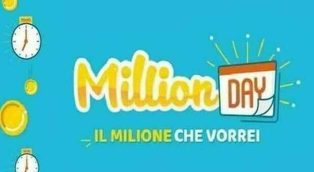 Million Day, i cinque numeri vincenti di oggi lunedì 23 novembre 2020