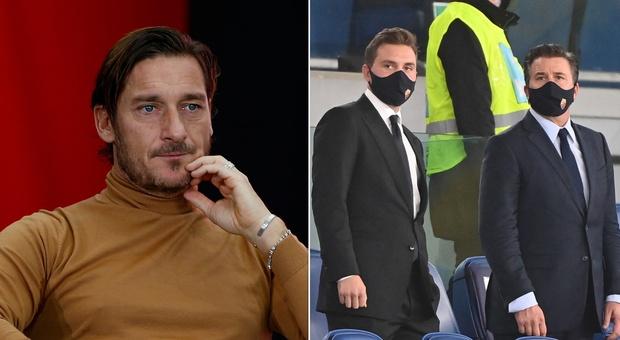 Roma, Totti smentisce l'incontro con i Friedkin: «Mai visto né sentito nessuno»