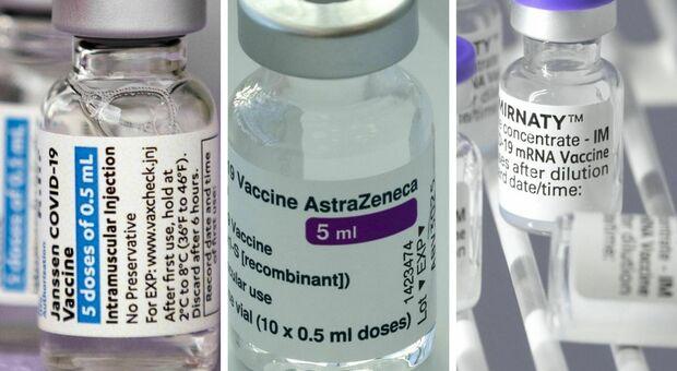 Bugiardini AstraZeneca, Johnson e Pfizer: ecco tutte le differenze fra i quattro vaccini