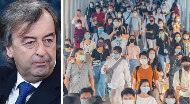 Covid, Burioni: «Basta blaterare di immunità di gregge, stop bugie pericolose: serve il vaccino»