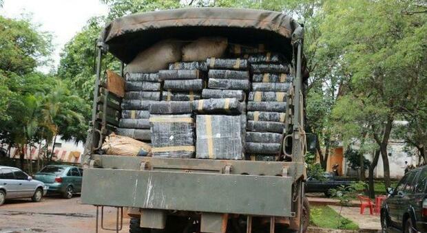 Maxxi sequestro di marijuana: 36 tonnellate