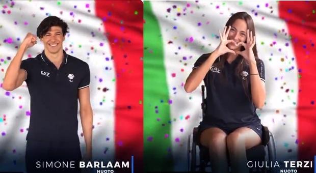 Paralimpiadi: Simone Barlaam è medaglia d'oro nei 50 sl, bronzo per Giulia Terzi nei 400
