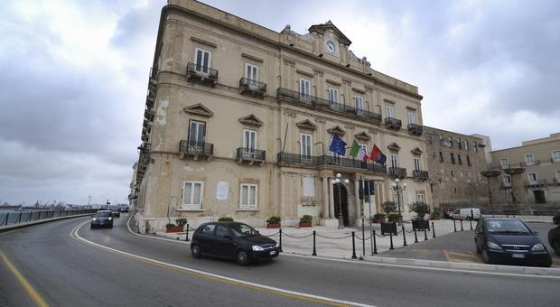 Il municipio di Taranto