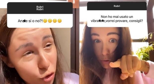 """Aurora Ramazzotti """"sessuologa"""" su Instagram: «Anale sì o no? Fai quello che ti piace!»"""