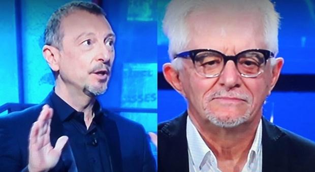 Amadeus, Franco Oppini ai Soliti Ignoti. Un dettaglio fa infuriare i fan: «Non è possibile...»