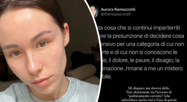 Aurora Ramazzotti contro Pio e Amedeo: «Le parole fanno male»