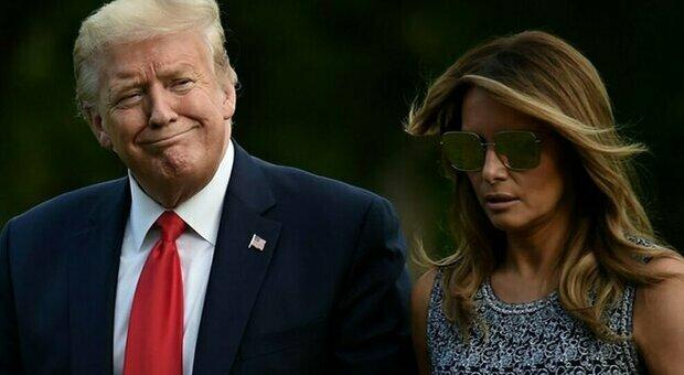 Melania Trump pensa già al divorzio: dopo la Casa Bianca Donald Trump sta per perdere anche la first lady