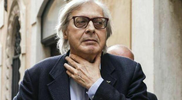 Sgarbi prosciolto, per la procura «non costituisce reato» l'autentificazione di opere false di De Dominicis